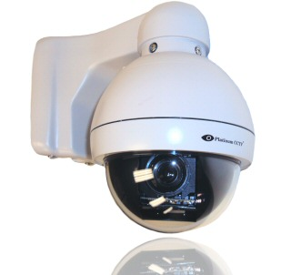 Videos to demonstrate setup of optional PTZ Security Cameras