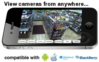 Remote access of 2K IP cameras from iPhone and Android