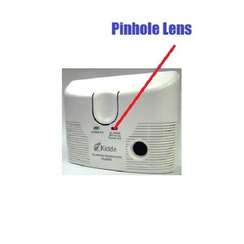 Carbon Monoxide Detector Hidden WiFi Nanny camera