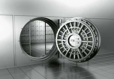 Vault door was found open when employees showed up at the bank