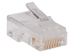 RJ45 Crimp Connectors for CAT-5e Cables