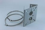 Pole Mount Adapter Plate for Platinum CCTV HD IP cameras