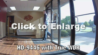 Advanced True WDR provides better view no matter the lighting conditions