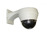 High-Speed Moving 10x Zoom PTZ Mini-Dome Camera - Analog