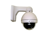 High-Speed 700TVL Moving 10x Zoom PTZ Mini-Dome Camera - Analog