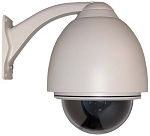 Low-Speed 27x Zoom PTZ Dome Camera - Analog