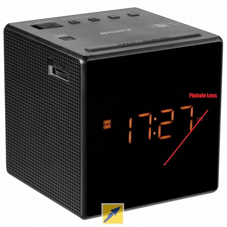 Hidden cam alarm clock - 1 part 3