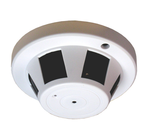 Smoke Detector Wifi Nanny Spy Camera Watch Live From