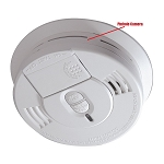 Smoke Detector Hidden Self-Contained Camera with 20 Hour Battery
