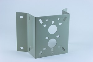 Corner Mount Adapter Plate for Platinum CCTV HD IP cameras