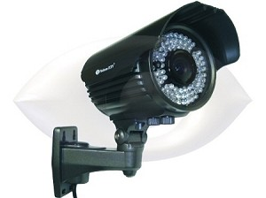 Long-Range Infrared 720 TVL Bullet Camera with Varifocal lens