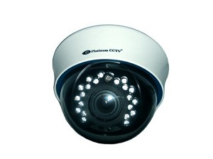 Hi-Res Indoor 720TVL Infrared Dome Varifocal Camera with SMART IR Technology