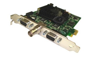 8-Channel H.264 PCIe DVR Card with AVM Software (8-Video + 8-Audio Ports)