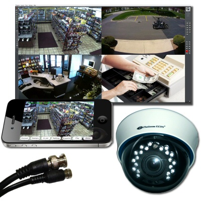 Restaurant AVM Analog CCTV Systems