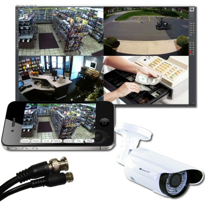 Business CCTV Camera Systems with Easy Playback and Remote Access