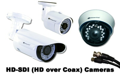 HD-SDI Cameras (HD over Coax)