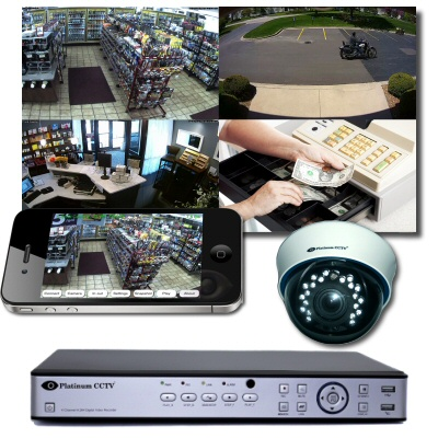 HD-TVI Standalone DVR Camera systems for business