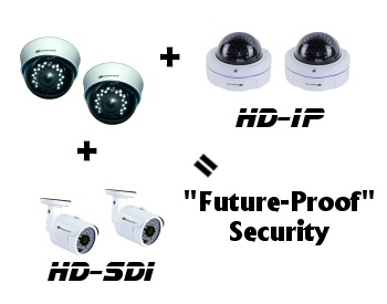 Expand on your 2K IP camera security system with more cameras of any kind!