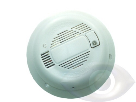 Hidden Smoke Detector Style Analog Camera With Audio And Video