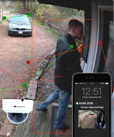 New Security Cameras watch your home for you - Tells you when to watch