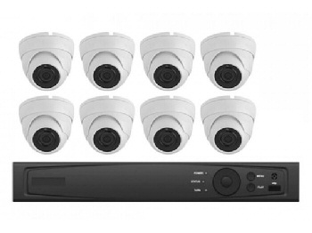8 Camera HD 1080P Security Camera system with Chicagoland Installation