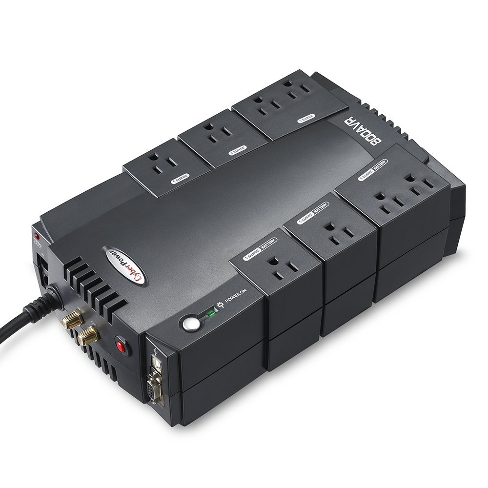 800va 450w Cyberpower Ups With Avr Battery Backup To