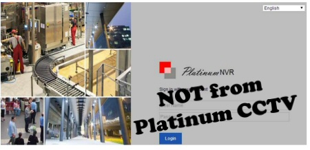 Platinum NVR vs Platinum CCTV there is a difference!