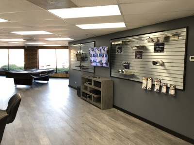 Our Warrenville, IL security camera showroom location