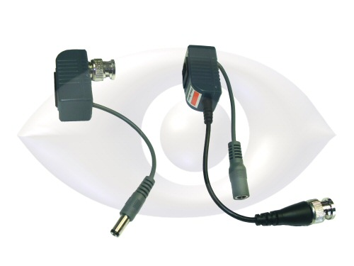 Power And Video Balun Run Analog Cameras With Cat 5 Cable