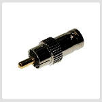 BNC (F) to RCA (M) Adapter