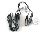 Miniature Powered CCTV Microphone for Covert Audio Recording w/6' cable
