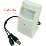 Hi-Res Covert Motion Detector Style Camera