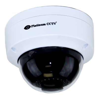 Small and lightweight IP dome camera