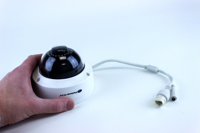 Small HD IP Dome camera with 1080P resolution