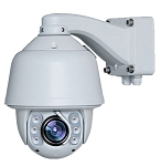 HD-SDI PTZ Dome Camera with 18x Optical Zoom - 1080P