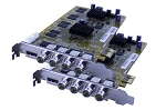 8-Channel HDVR Cards (HD-SDI) 240FPS 1080P Resolution PCIe Card with AVM Software