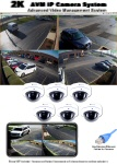 6 Camera 2K HD-IP Security Camera NVR System