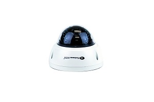 HD-4417 - 2K Resolution Mini Dome IP Camera with 4 MegaPixel CMOS Image Sensor and 65' Infrared Night Vision + 100 degree Wide View