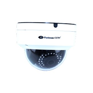 HD-4415 - 4 MegaPixel WDR Mini Dome IP Camera with 100' Infrared Night Vision + 120 degree Wide View