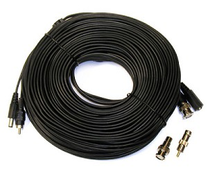 150' Budget Power & Video CCTV Cables