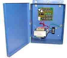 4 - Camera PTC Fused Distributed Power Supply Box with A/C power cord