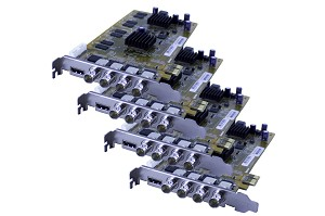 16-Channel HDVR Cards (HD-SDI) 480FPS 1080P Resolution PCIe Cards with AVM Software